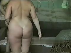 Домашнее видео русской толстушки