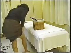 Aziatskij massazh - s#emka skrytoj kameroj