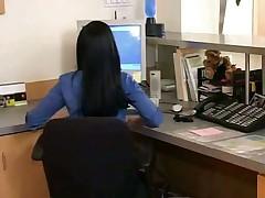 Порно на работе