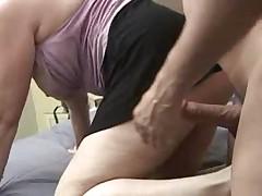 Starushka vyebana v anal