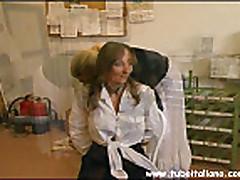 Grudastaja mamochka tolstushka iz Italii