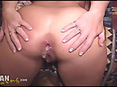 Anal'nyj seks na svinger vecherinke