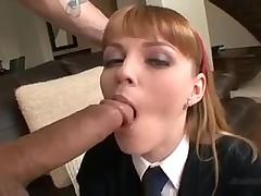 Юная блондинистая сучка