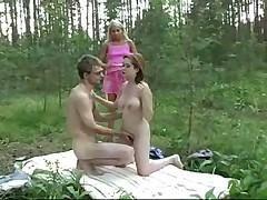 Порно на природе
